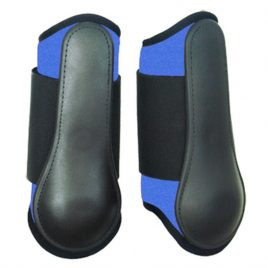 Splint boots Neoprene Brushing boots blauw