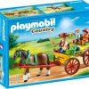 PLAYMOBIL Paard en kar - afbeelding van de 6932 doos
