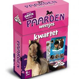 Paarden kwartet - leuk kwartet voor de paarden en pony liefhebber