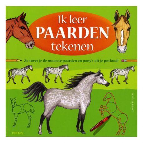 Paardenboek Ik leer paarden tekenen