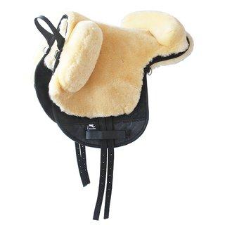 bearbacpad zadel pony paard pad wol