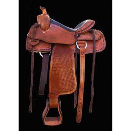 western zadel pony paard zijkant