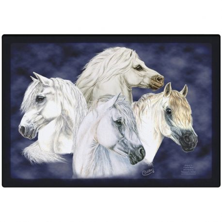 Welsh pony placemat paard